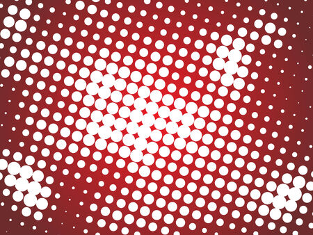 distort: Abstract halftone background Illustration