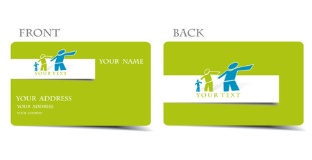 vector business card set, for more business card of this type please visit my gallery Vector