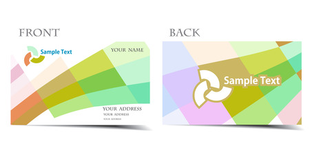 multy: vector business card set, for more business card of this type please visit my gallery
