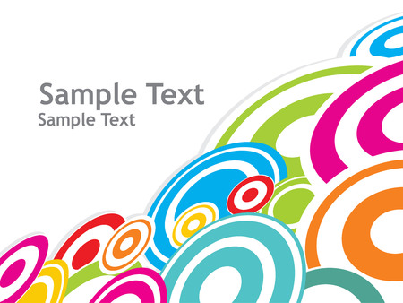 modern multi color pattern background with free space for your text Vector