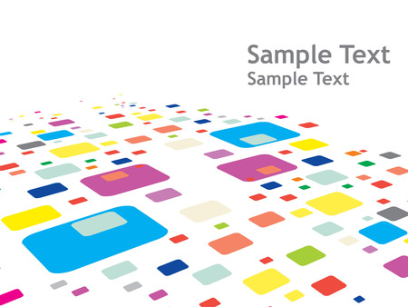 abstract mosaic vector composition for more background of this type please visit my gallery Vector