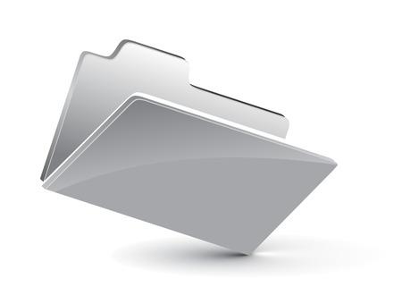 3d vector folder icon Vector