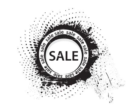 vector grunge sale rubber stamp  Vector