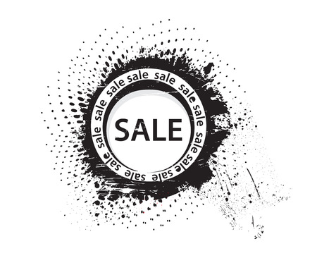 vector grunge sale rubber stamp  Vector