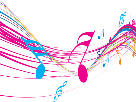 Music theme for more background of this type please visit my gallery Vector