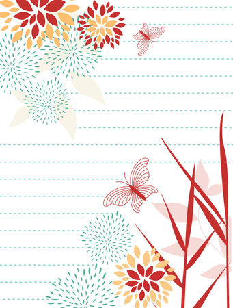 floral design elements with more floral background of this type please check my gallery Stock Vector - 5170351