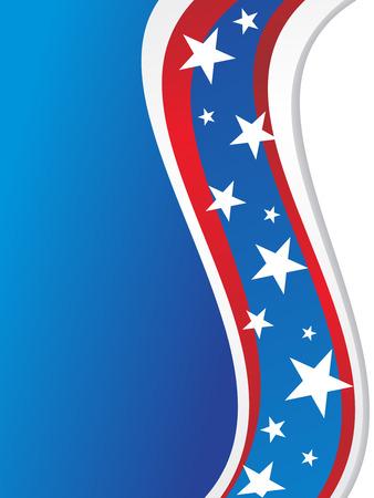 USA flag style sunburst for other flag design elements please cheak my portfolio Stock Vector - 5170296