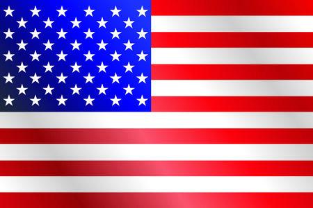 estados unidos bandera: EE.UU. pabell�n oficial exacta de fondo con los colores y las proporciones Vectores