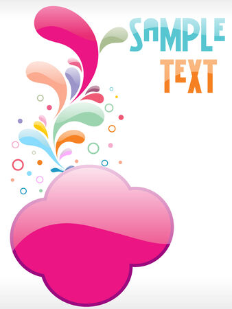 Floral vector text elements for other floral and design elements please cheak my portfolio Vector