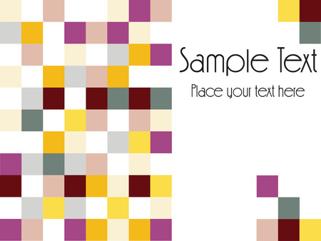 abstract mosaic background for more background of this type please check my gallery Vector