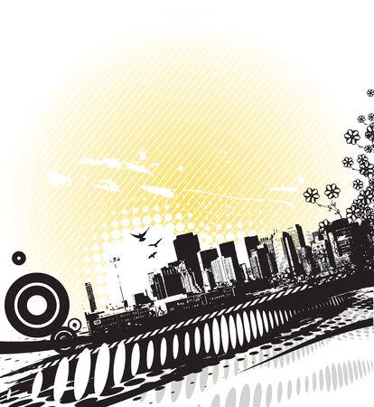 urban concept vector Stock Vector - 5292942