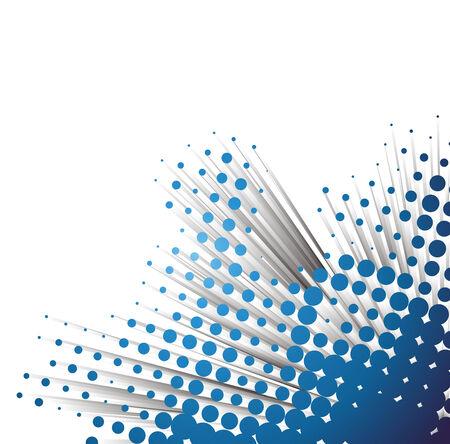 3d vector golf halftone met voorbeeld tekst achtergrond Vector Illustratie