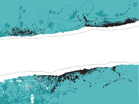 Abstract background. with vector floral grunge background to the invitation. Vector