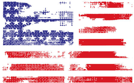 grunge flag: grunge american flag background