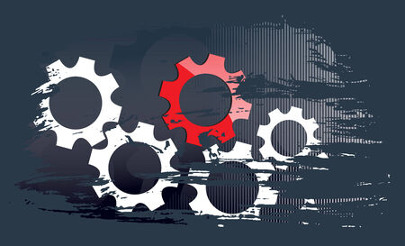 cogs: grunge background business technology corporate