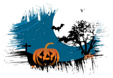 abstract grunge halloween background Vector