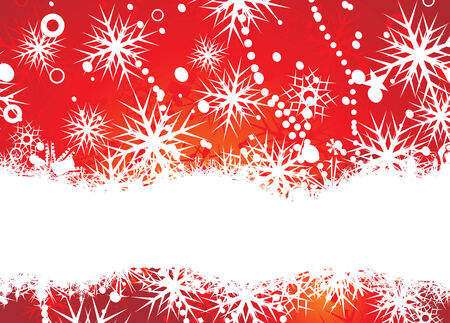 Abstract christmas snow with space of your text, vector illustration for xmas Stock Vector - 5953895
