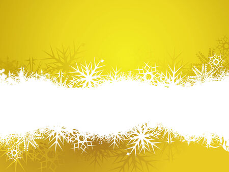 Abstract christmas snow with space of your text, vector illustration for xmas Stock Vector - 6035508