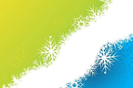 Abstract christmas snow with space of your text, vector illustration for xmas Stock Vector - 6035487