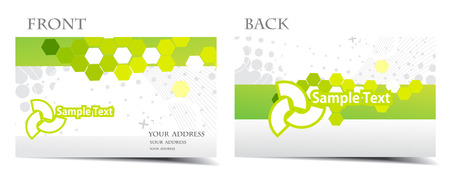 please: vector business card set, for more business card of this type please visit my gallery