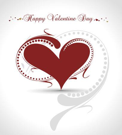 dating and romance: Astratto carta San Valentino con lo spazio del vostro testo, vettore illustrationn