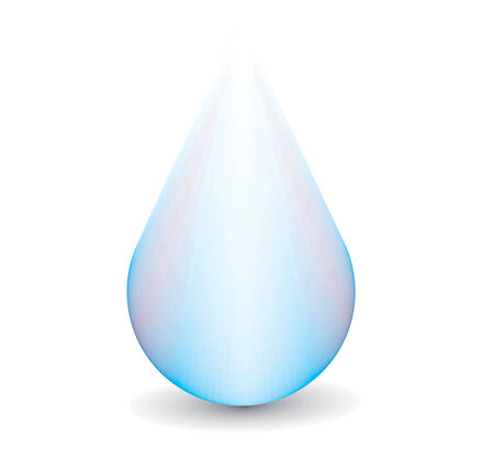 tears: Clean water droplet,this make not a mesh