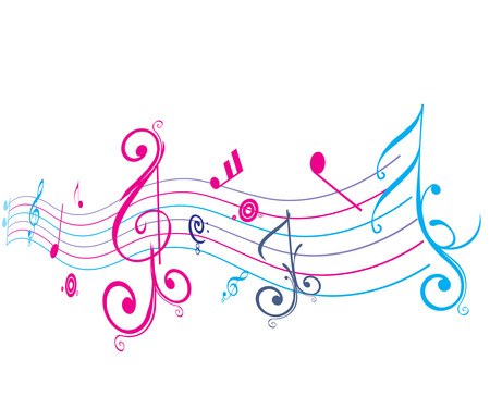 Music notes for design use of your project Vector