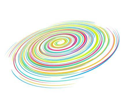 catastrophe: ligne de vague r�sum� arc-en-ciel avec espace de votre texte, illustration vectorielle,