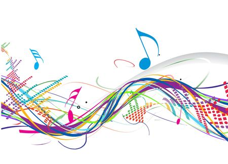 Music theme for more  background of this type please visit my gallery Stock Vector - 6824808