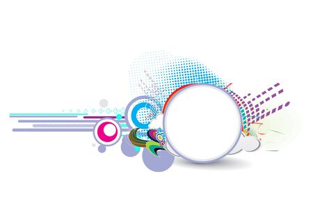 echnology: abstract technological background with  your used banner background .  illustration