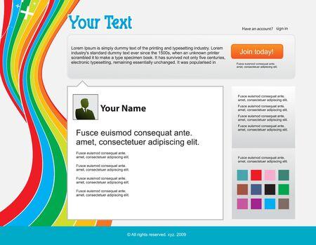 twitter: twitter themes website design template background,  illustration Illustration