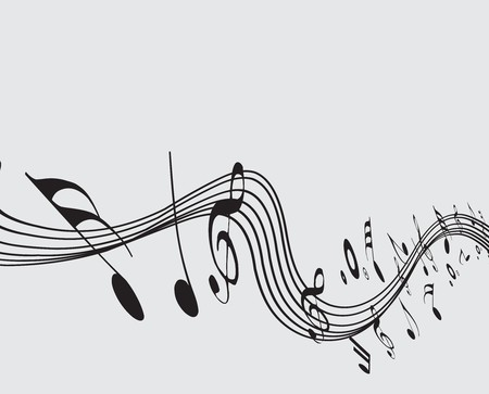 Music notes for design use Stock Vector - 7081457