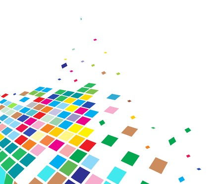 actual: abstract mosaic composition with sapce of our sample text background