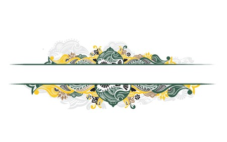 abstract floral design banners with space of your text,  illustration. Stock Vector - 7133153