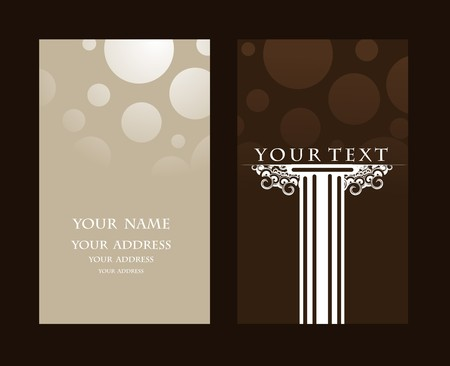 leaflet: business card set, for more business card of this type please visit my gallery