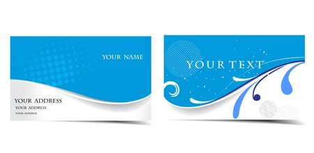 vector business card set, for more business card of this type please visit. Vector