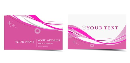 vector business card set, for more business card of this type please visit. Stock Vector - 7153430