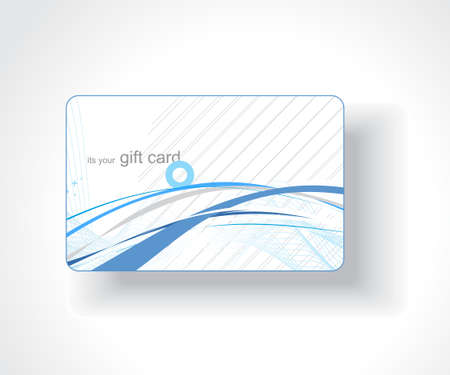 anniversary card: Beautiful gift card, vector illustration. Illustration