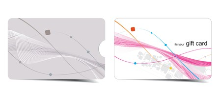 Beautiful gift card, vector illustration. Stock Vector - 7153438