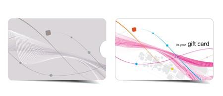 gift shop: Beautiful gift card, vector illustration. Illustration