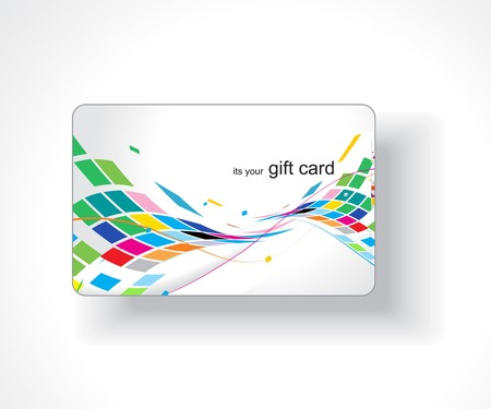 anniversary sale: Beautiful gift card, vector illustration.
