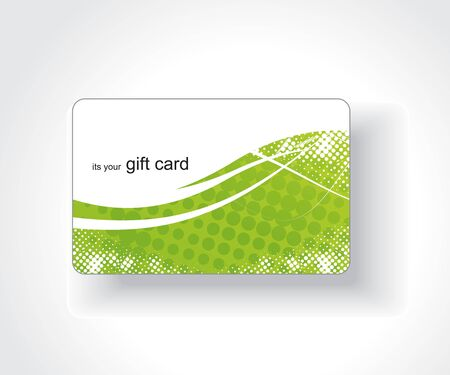 greeting card backgrounds: Beautiful gift card, vector illustration.