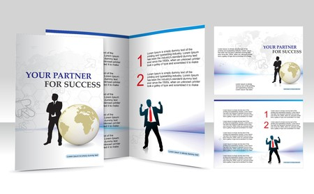 brochure design for Business artworks. Vector illustration. Vector