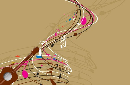 Music notes for design Vector