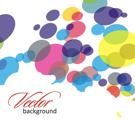 Abstract colorful circle background Stock Vector - 7272133