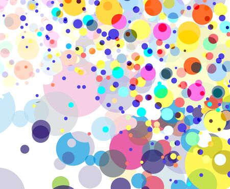 Abstract colorful circle background Stock Vector - 7272162