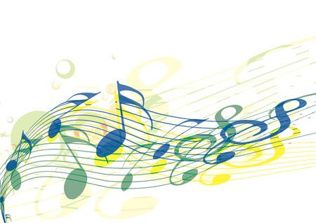 music concert: Music notes for design use