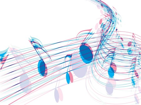 Music notes for design use Stock Vector - 7272288