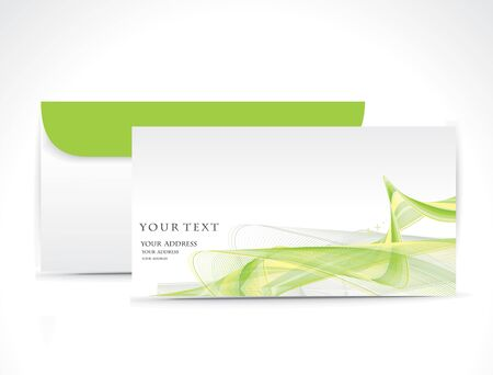 correspondencia: Sobres de papel aislados sobre fondo blanco.