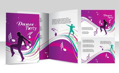 mag: conception de brochure pour le club de danse